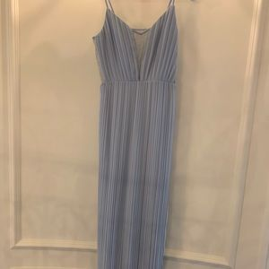 BCBGeneration light blue gown